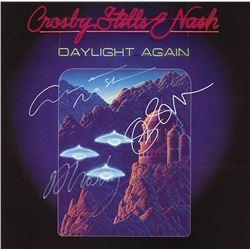 "Crosby Stills and Nash Signed ""Daylight Again"" Album"