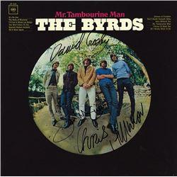 "The Byrds ""Mr. Tambourine Man"" Signed Album"