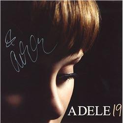 "Adele Signed ""19"" Album"