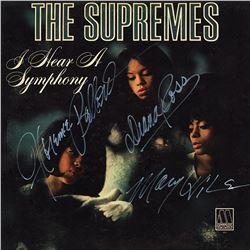 "The Supremes Signed ""I Hear a Symphony"" Albu,"