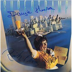 "Supertramp Band Signed ""Breakfast In America"" Album"