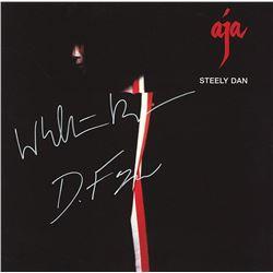 "Steely Dan Band Signed ""Aja"" Album"
