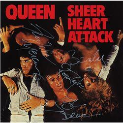 "Queen Signed ""Heart Attack"" Album"