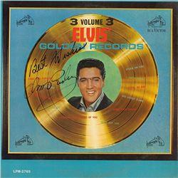 "Elvis Signed ""Elvis' Golden Records Volume 3"" Album"