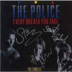 """Police Signed """"Every Breath You Take"""" Album"""