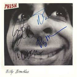 "Phish Signed ""Billy Breathes"" Album"