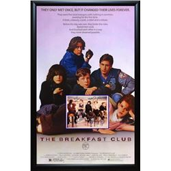 Breakfast Club Signed Movie Poster