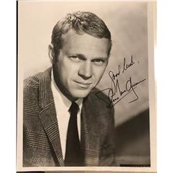 Steve McQueen Signed Photo