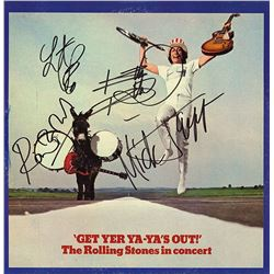 "Rolling Stones Signed ""Get Yer Ya Ya's Out"" Album"