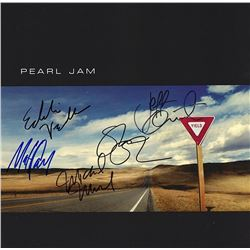 "Pearl Jam Band Signed ""Yield"" Album"