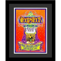 "Bob Masse ""Woodstock"" Framed Poster"