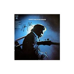 "Johnny Cash ""At San Quentin"" Signed Album"
