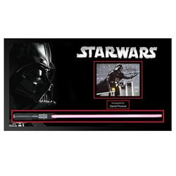Darth Vader Autographed Functional Lightsaber