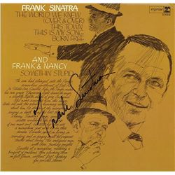 "Frank Sinatra Signed ""The World We Knew"" Album"
