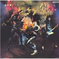 "Kiss Signed ""Alive!"" Album"