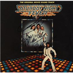 "The Bee Gees Signed ""Saturday Night Fever"" Album"