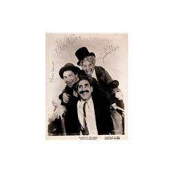 "Marx Brothers ""Night at the Opera"" Signed Lobby Card"