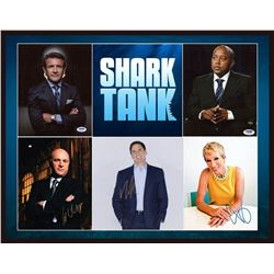 Shark Tank Autographed Collage