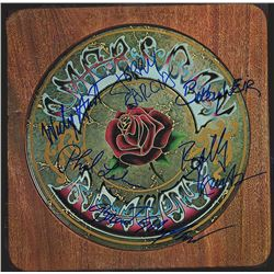Grateful Dead Band Signed American Beauty Album