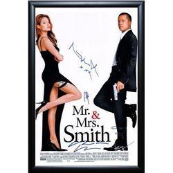 Mr. & Mrs. Smith - Signed Movie Poster