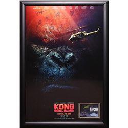 Kong: Skull Island Cast Signed Poster