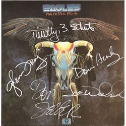 The Eagles Band Signed One of These Nights Album
