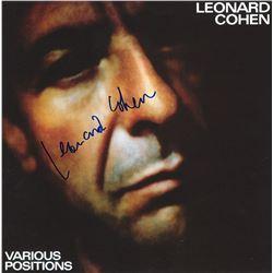 Leonard Cohen Signed Self Titled Album