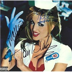 """Blink 182 Signed """"Enema Of The State"""" Album"""