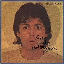 "Paul McCartney Signed ""McCartney II"" Album"