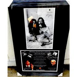 Steve Jobs & Richard Dreyfuss Signed Think Different Ad Collage