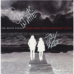 "White Stripes Signed ""Under Great White Northern Lights"" Album"