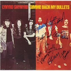 "Lynyrd Skynyrd Signed ""Gimme Back My Bullets"" Album"