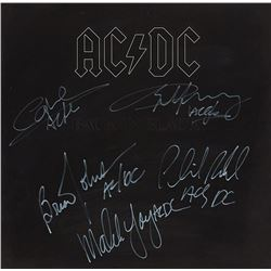 AC/DC Signed Back In Black Album