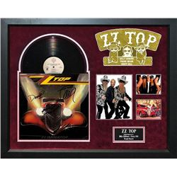 "ZZ Top ""Eliminator"" SIgned Album"