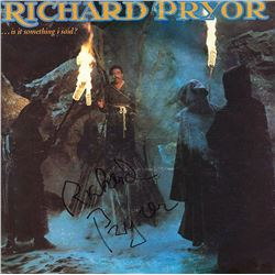 "Richard Pryor Signed ""Is It Something I Said?"" Album"