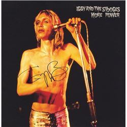 "Iggy Pop Signed ""More Power"" Album"