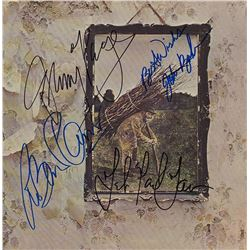 "Led Zeppelin Signed ""Led Zeppelin IV"" Album"