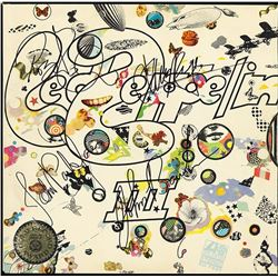 "Led Zeppelin Signed ""Led Zeppelin III"" Album"