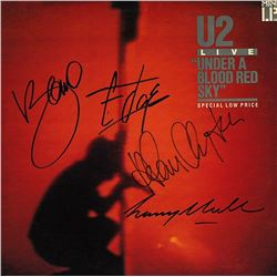 "U2 Signed ""Under A Blood Red Sky"" Album"