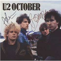 "U2 Signed ""October"" Album"