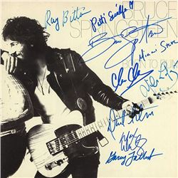 "Bruce Springsteen E Street Band Signed ""Born to Run"" Album"