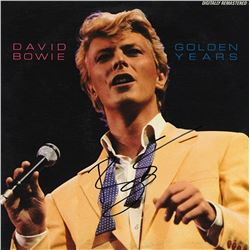 "David Bowie Signed ""Golden Years"" Album"