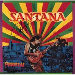 "Carlos Santana Signed ""Freedom"" Album"