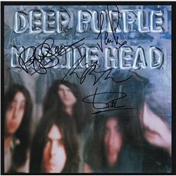 "Deep Purple Signed ""Machine Head"" Album"