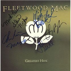 "Fleetwood Mac Signed ""Greatest Hits"" Album"