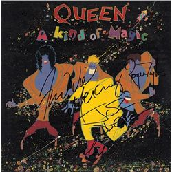 "Queen Signed ""A King of Magic"" Album"