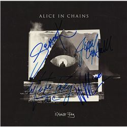 "Alice In Chains Signed ""Rainier Fog"" Album"