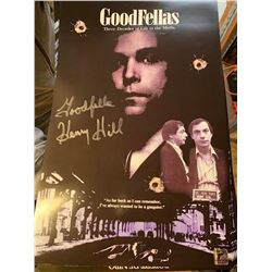 "PSA/DNA Henry Hill ""Goodfellas"" Signed Mini-Poster"
