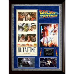 Back to the Future Signed Photo Collage