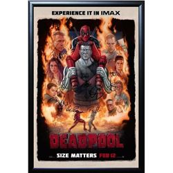 Deadpool Signed Movie Poster